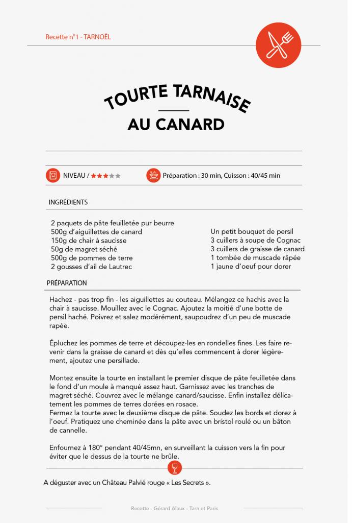 Tourte Tarnaise - Recettre n°4