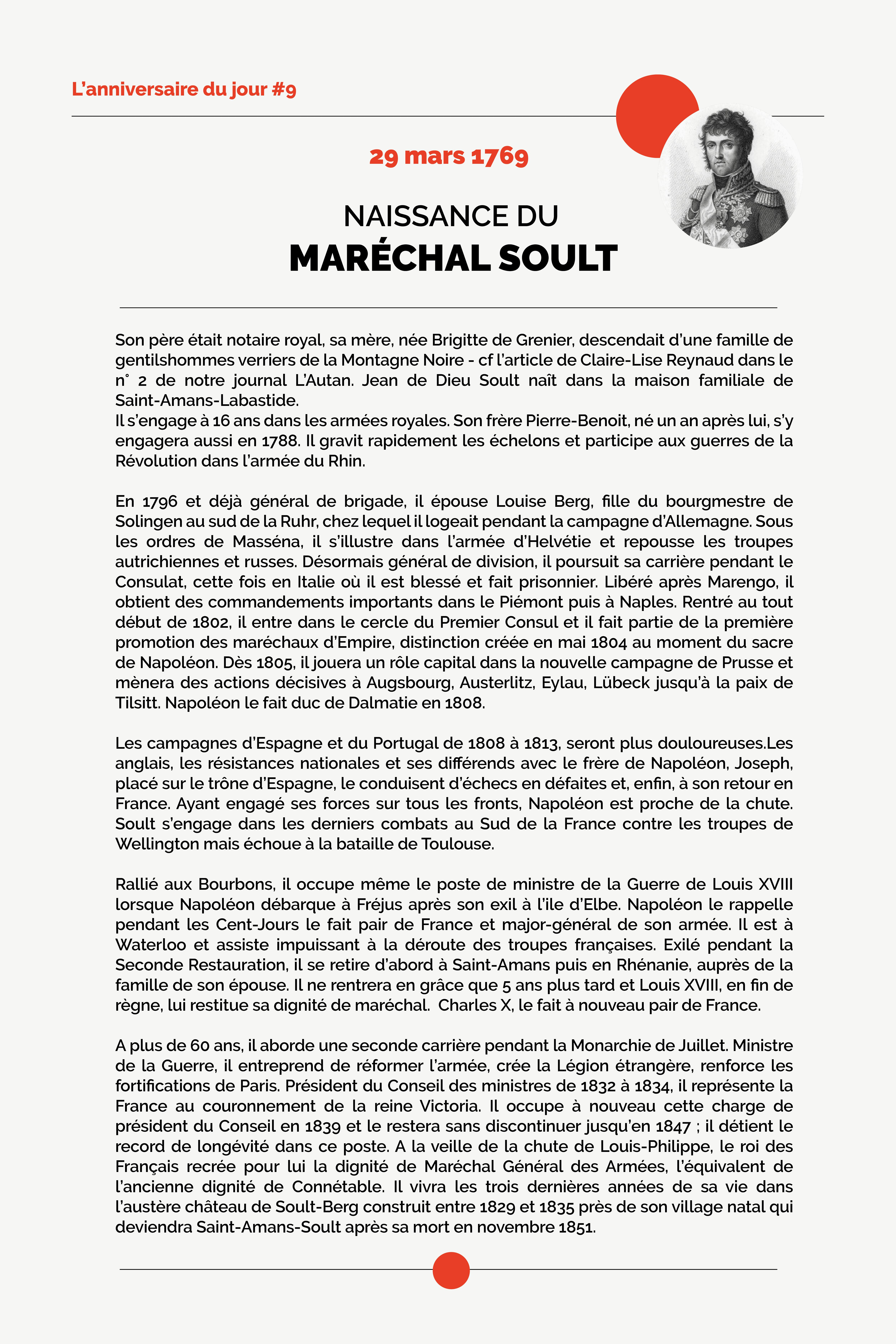 Anniversaire-Naissance-Maréchal-Soult